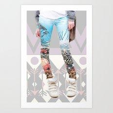 the pants. Art Print