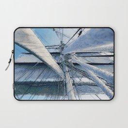 Nautical Sailing Adventure Laptop Sleeve