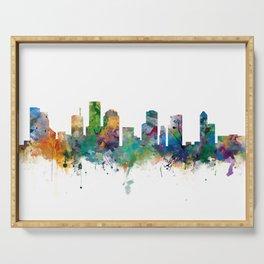 Houston Skyline Serving Tray