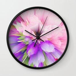 flower bloom c Wall Clock
