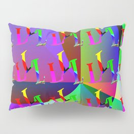 L - pattern a Pillow Sham