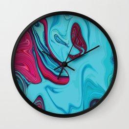 Liquid Marble Vibrant 012 Wall Clock