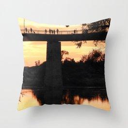 Sunset Seekers Grand Trunk Trail Throw Pillow