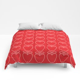 MCM Apple Red Comforters