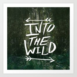 Into the Wild III Art Print
