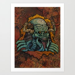 Ripped Off Ripper Art Print