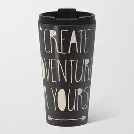 Create Adventures Metal Travel Mug