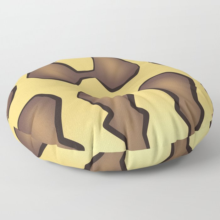Jaguar Carpet Python Floor Pillow