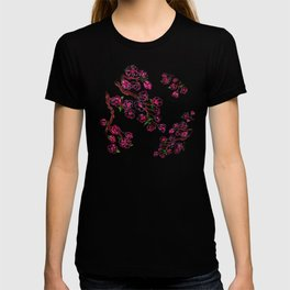 Sakura Branch Painting T-shirt
