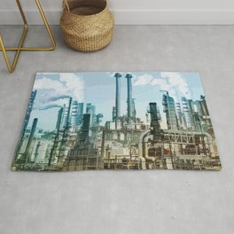 Industrial Center Rug