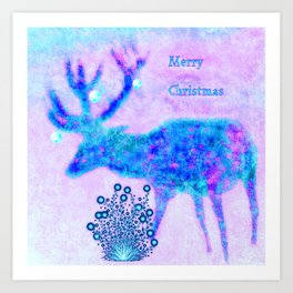 Merry Christmas 2 Art Print