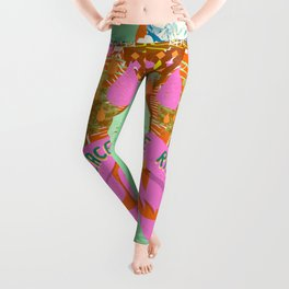 PEACE ON THE RISE Leggings