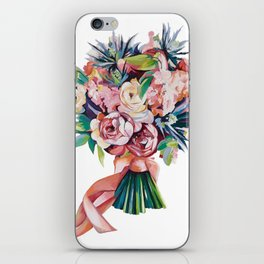 Wedding bouquet iPhone Skin