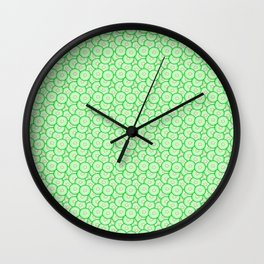 Cucumber patterned Wall Clock