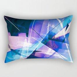 Prizism - Geometric Abstract Art Rectangular Pillow