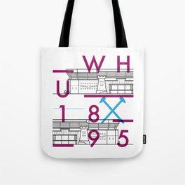 Upton Park - Football Stadiums Series Tote Bag