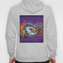 Graffiti Shark Hoody
