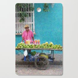 Mango Seller Cutting Board