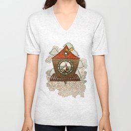 Birdhouse  Unisex V-Neck