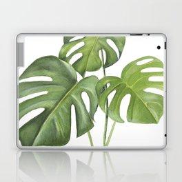 Monstera deliciosa 3 Leaves Laptop & iPad Skin