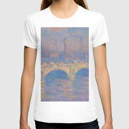 "Claude Monet ""Waterloo bridge"" T-shirt"