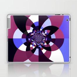 Purple Magenta Periwinkle Kaleidoscope Mangala Laptop & iPad Skin