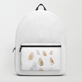 Owls of The World, Owl Lover Gift, Bird Lover, Bird Watcher Shirt Backpack