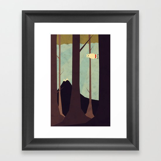 Under Control Framed Art Print