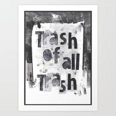 poe-try 5 Art Print