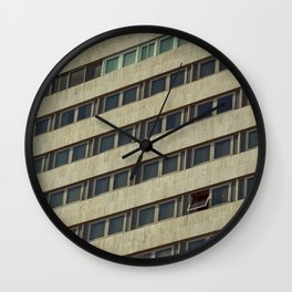 Contemporary Stern Living Wall Clock