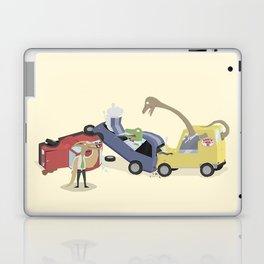 BandNames : Dinosaur Pile-Up Laptop & iPad Skin