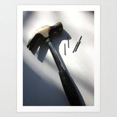 The Hammer Glamour Shot Art Print