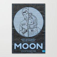 Moon… Canvas Print