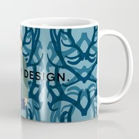 will graham Mugs featuring Hannibal - Will Graham by MacGuffin Designs