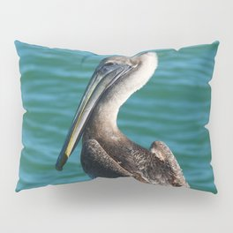 Pelican On A Pole Pillow Sham