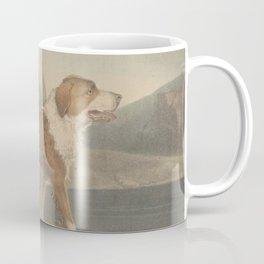 Vintage Illustration of a Newfoundland Dog (1835) Coffee Mug