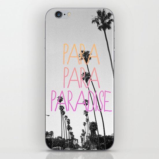 para para paradise :) iPhone & iPod Skin