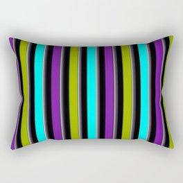 VERTICAL Retro Candy Stripe Rectangular Pillow