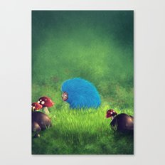 Blue Pet! Canvas Print