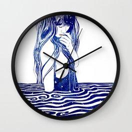 Water Nymph XVI Wall Clock