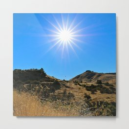This Idaho Sun Metal Print