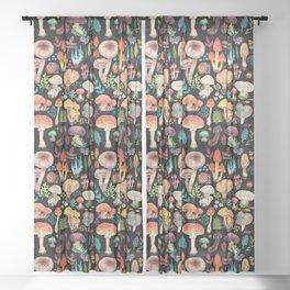 Mushroom heart Sheer Curtain