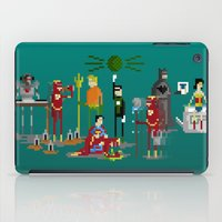 aquaman iPad Cases featuring Office Party by Midgetcorrupter