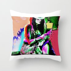 Handygirl Throw Pillow