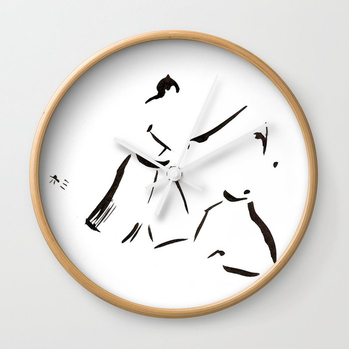 Aikido Series - 1 Wall Clock