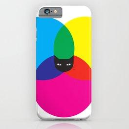 CMYKAT iPhone Case