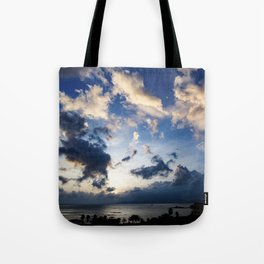 Drama In The Sky Vietnam Tote Bag