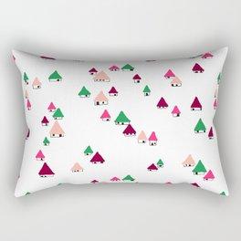 Huts Rectangular Pillow