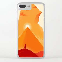 The Falcon of Siwa Clear iPhone Case