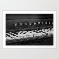 Piano Sonata Art Print